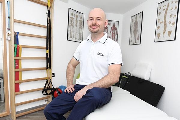 Tomasz Jagiello physiotherapist